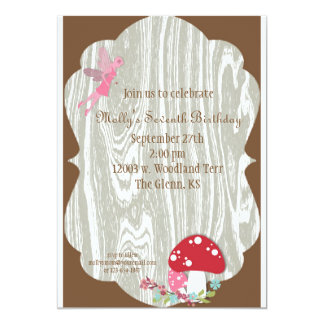 Fairy Woodland Invitation