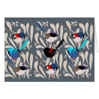 Fairy Wrens Card