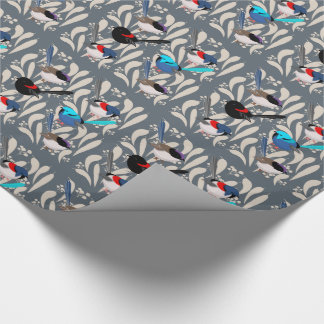 Fairy Wrens Wrapping Paper