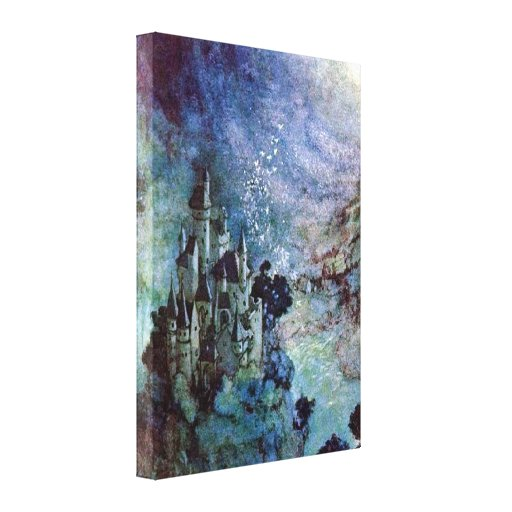 Fairyland by Edmund Dulac Stretched Canvas Prints