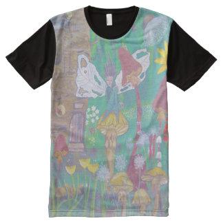 Fairyland Light Full Print Tshirt All-Over Print T-Shirt