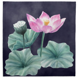 FAIRYLAND LOTUS FLOWER CLOTH NAPKINS