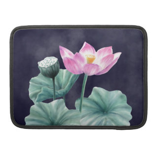 FAIRYLAND LOTUS FLOWER MACKBOOK SLEEVE