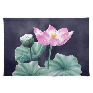 FAIRYLAND LOTUS FLOWER PLATEMATS PLACEMAT
