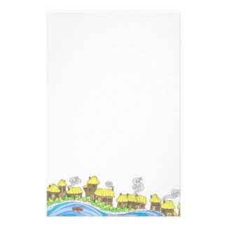 Fairyland upon the River Personalized Stationery