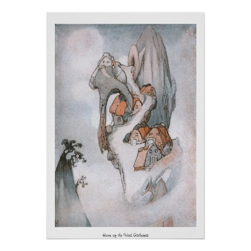 Fairylands - Home of the Wind Gatherers Print