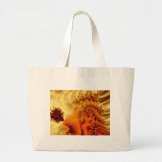 Fairy's Silk Abstract Fractal Design Canvas Bags