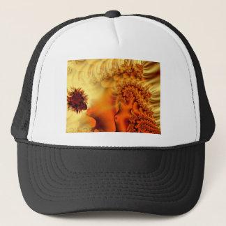 Fairy's Silk Abstract Fractal Design Trucker Hat