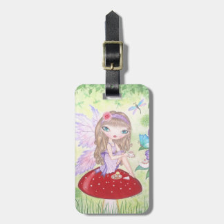"""Fairy's Tea"" Luggage Tag"