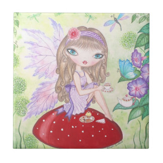 """Fairy's Tea"" Tile"