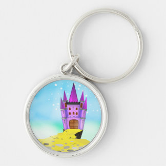 Fairytail Castle Key Ring