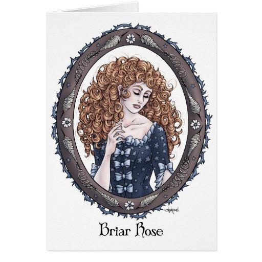 "Fairytale ""Briar Rose"" Fantasy Art Card #2"