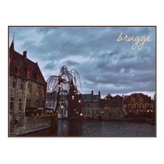 Fairytale Brugge Postcard