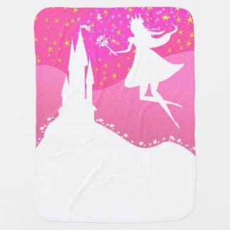 fairytale castle Baby Blanket