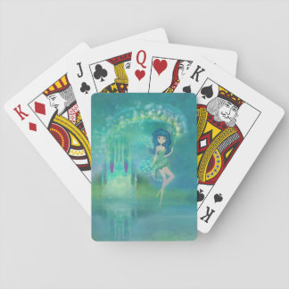 fairytale castle Classic Playing Cards