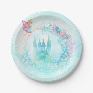 fairytale castle Paper Plate 7 Inch Paper Plate