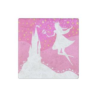 fairytale castle Stone Magnet