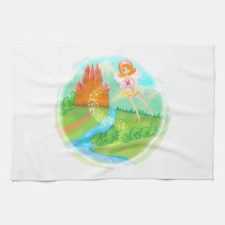 fairytale castle TeaTowels Tea Towel