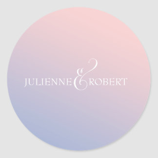 Fairytale | Couple's Name Wedding Sticker
