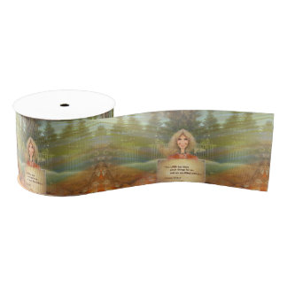 Fairytale Fall Psalm 126 Filled With Joy Grosgrain Ribbon