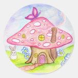 Fairytale Mushroom Sticker