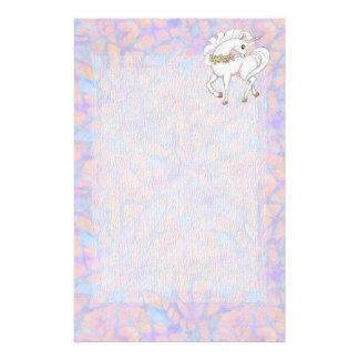 Fairytale Pastel Fantasy Unicorn Personalized Stationery