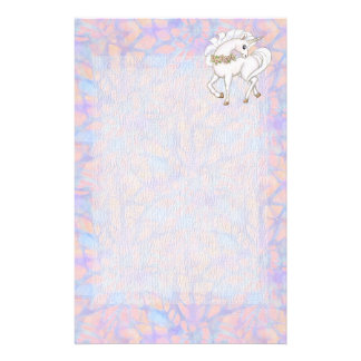 Fairytale Pastel Fantasy Unicorn Stationery Paper