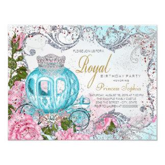 Fairytale Princess Birthday Party 11 Cm X 14 Cm Invitation Card