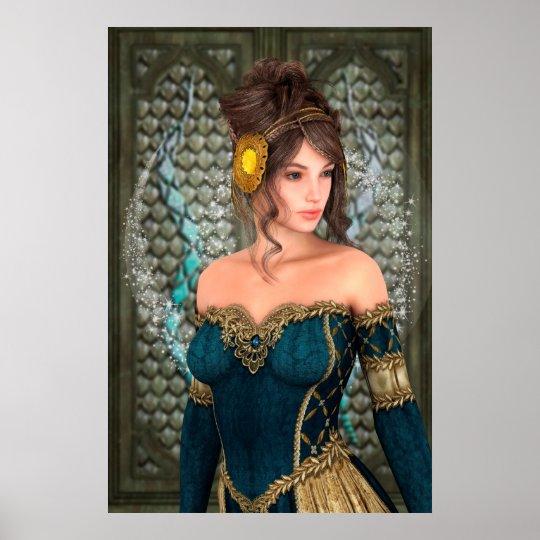 Fairytale Princess Poster