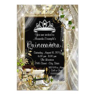 Fairytale Princess Quinceañera Card