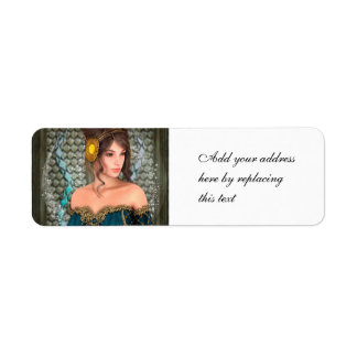 Fairytale Princess Return Address Label