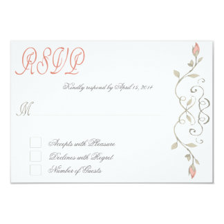 Fairytale RSVP III 9 Cm X 13 Cm Invitation Card