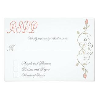 Fairytale RSVP III 9 Cm X 13 Cm Invitation Card