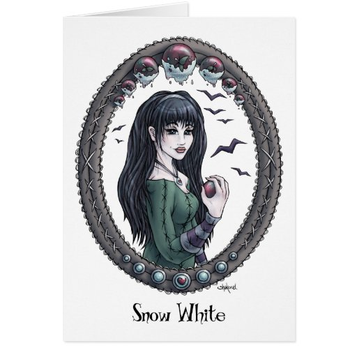 "Fairytale ""Snow White"" Fantasy Art Card #2"