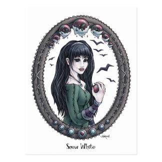 Fairytale Snow White Fantasy Art Postcard 2
