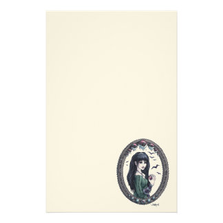 "Fairytale ""Snow White"" Fantasy Art Stationery"
