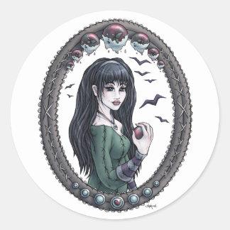 "Fairytale ""Snow White"" Fantasy Art Stickers"