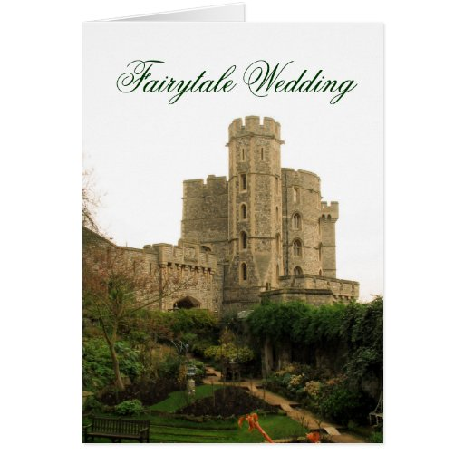 Fairytale Wedding Card