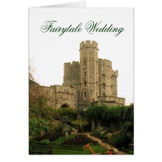 Fairytale Wedding Greeting Card