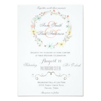 Fairytale wedding invitation IV