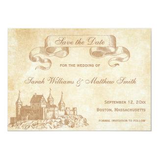 Fairytale Wedding Save the Date Card