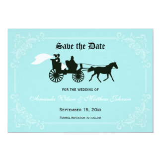 Fairytale Wedding Save the Date Cards Personalized Invite