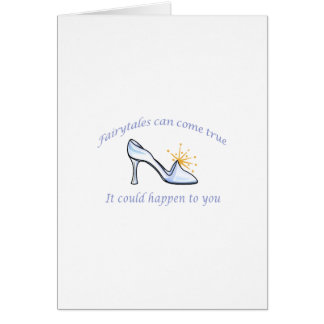 FAIRYTALES CAN COME TRUE CARD