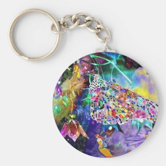 Fairytales, key-chain basic round button key ring