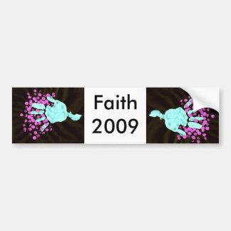 Faith 2009a bumper stickers
