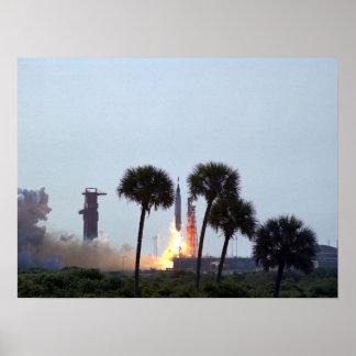 Faith 7 (Mercury Atlas 9) Launch Print