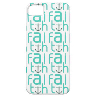 Faith Anchor Pattern iPhone 5 Case