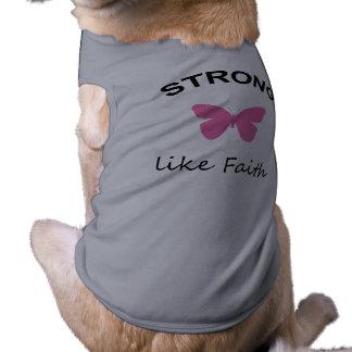 Faith and Folly and Cupcake Dog Shirt