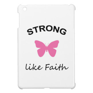 Faith and Folly and Cupcake iPad Mini Cover