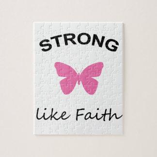 Faith and Folly and Cupcake Jigsaw Puzzle